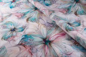 پارچه چادری رنگی
